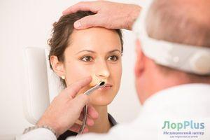 Операция при искривлении носовой перегородки