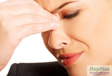 Синусит. Причины, симптомы и лечение.