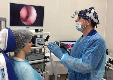 Операции ухо горло нос в клинике Лор Плюс в Перми